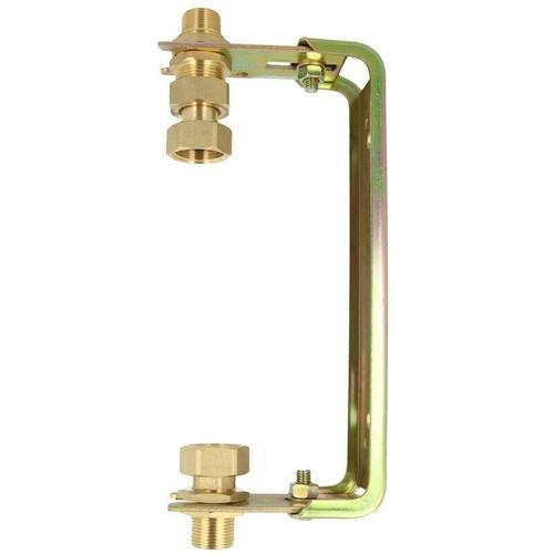 JS Wasserzähler-Bügel für Hauswasserzähler QN 2,5, DN 3/4 Zoll Steigstrang mit Baulänge 105 mm