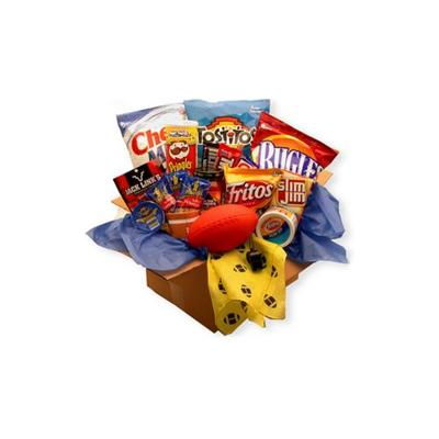 GBDS Multi Touchdown Game Time Snacks Care Package