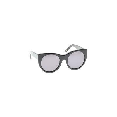Raen Sunglasses: Black Solid Acc...