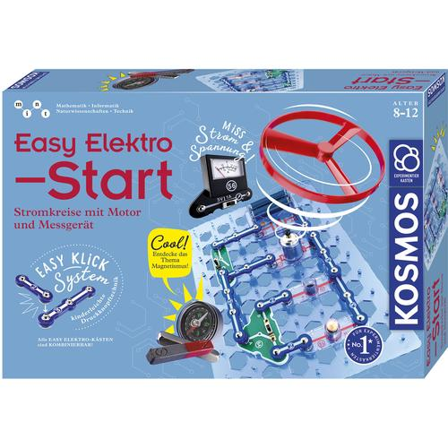 Kosmos Experimentierkasten Easy Elektro - Start mehrfarbig Kinder Experimentieren