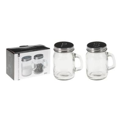 Deco Home & Garden - Glass Salt And Pepper Shakers