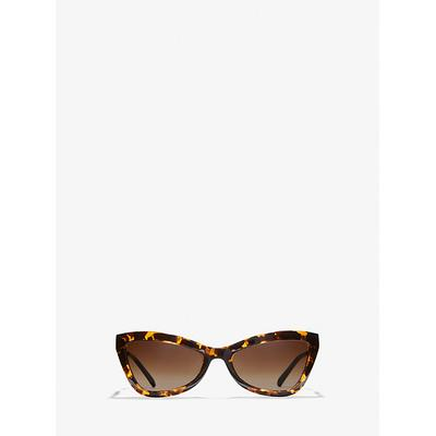 Michael Kors Valencia Sunglasses Brown One Size