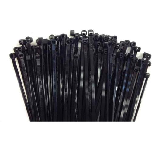 100 Kabelbinder 450x7,6mm schwarz (UV-stabilisiert) PA6.6