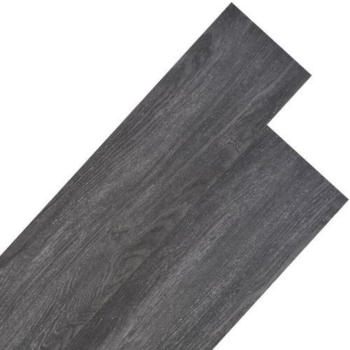 PVC Laminat Dielen 4,46 m² 3 mm Schwarz
