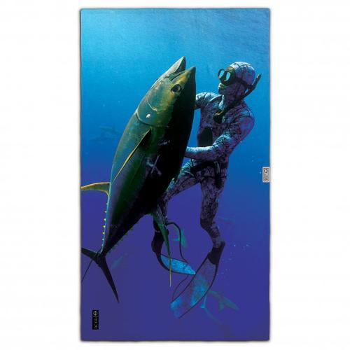 LEUS - Beach ECO Towel - Badehandtuch Gr 148 x 84 cm fish 101