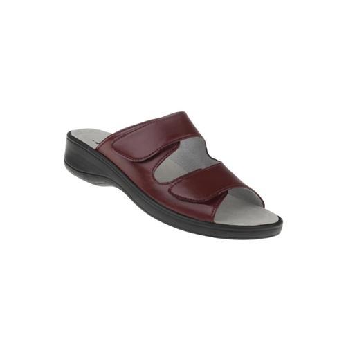 Pantolette Leonie Natural feet Rot