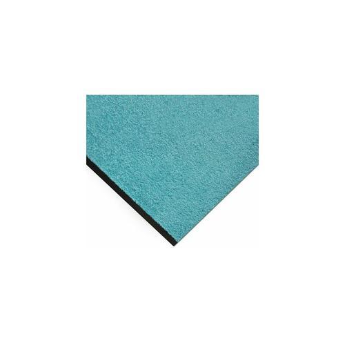 Fußmatte Monochrom | BxL 200 x 400 cm | Türkis | Certeo Bodenmatte Bodenmatten