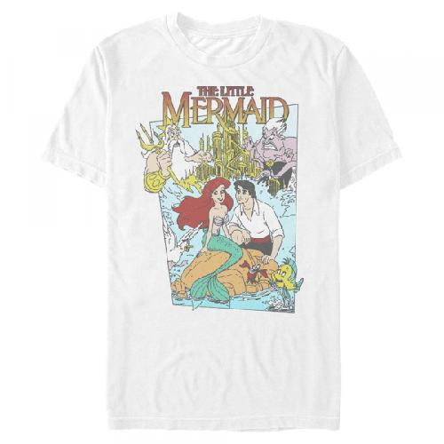 Meerjungfrau Cover Gruppe - Disney Arielle die Meerjungfrau - Männer T-Shirt