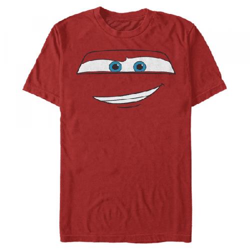 McQueen Porträt Lightning McQueen - Pixar Cars 1-2 - Männer T-Shirt