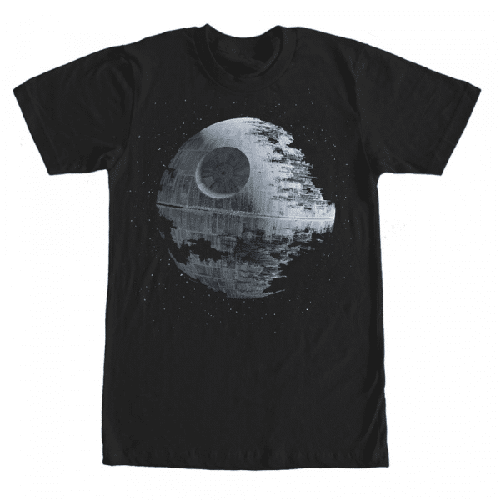 Todesstern Sterne - Star Wars - Männer T-Shirt
