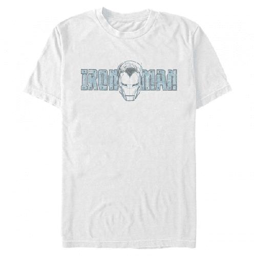 Ironman Porträt Iron Man - Marvel - Männer T-Shirt