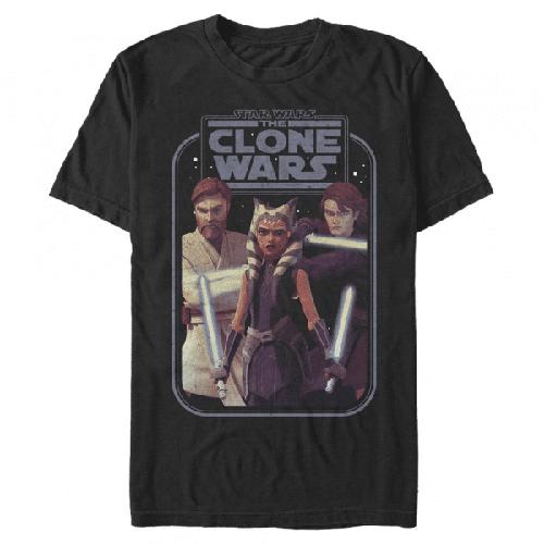 Hero Group Shot - Star Wars Klonenkriege - Männer T-Shirt