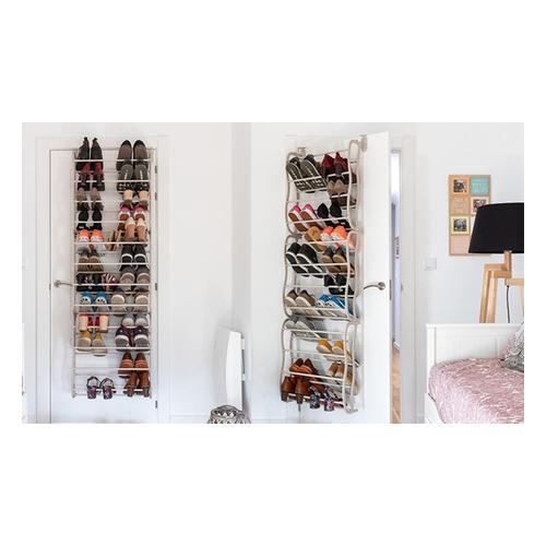 Platzsparendes Schuhregal für bis zu 36 Paar Schuhe