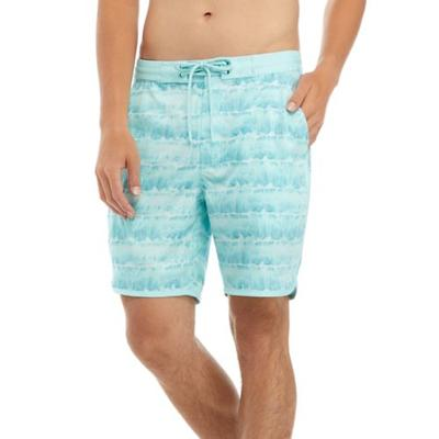 Reel Life Blue Tint Rollin' In Waves Shorts