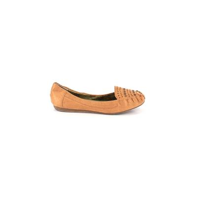 BC Footwear - BC Footwear Flats: Brown Solid Shoes - Size 9