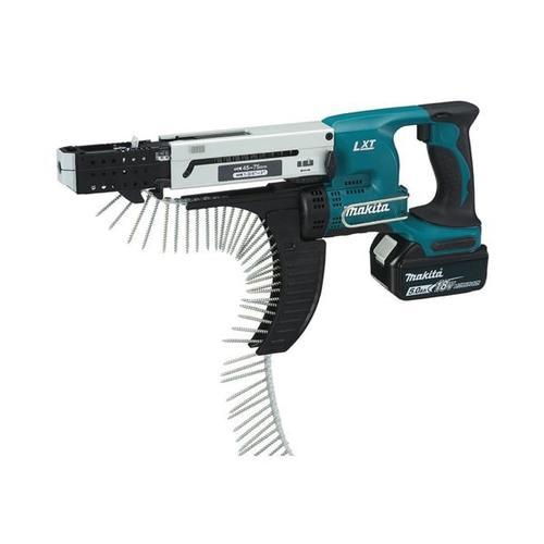 Akku-Magazinschrauber »DFR750RTE« 18 V mit 2 Akkus, makita, 8x23.8x46.4 cm