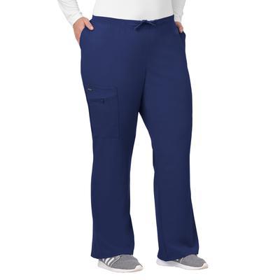Plus Size Women's Jockey Scrubs Women's Favorite Fit Pant by Jockey Encompass Scrubs in Navy (Size 4X(28W-30W))