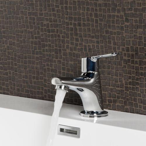 Badplaats - Kaltwasserhahn Dex - Kaltwasser Chrom Waschtisch Armatur Waschtischarmatur Waschbecken