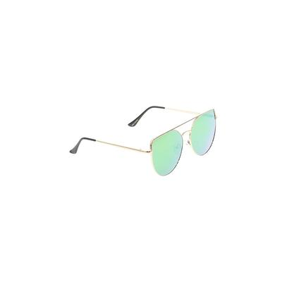 Sunglasses: Gold Solid Accessories