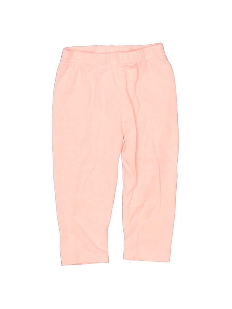 Just One You Made by Carters Leggings: Pink Solid Bottoms - Size 6 Month