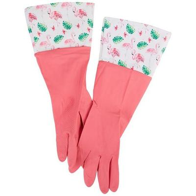 Home Expressions Flamingo Rubber Gloves