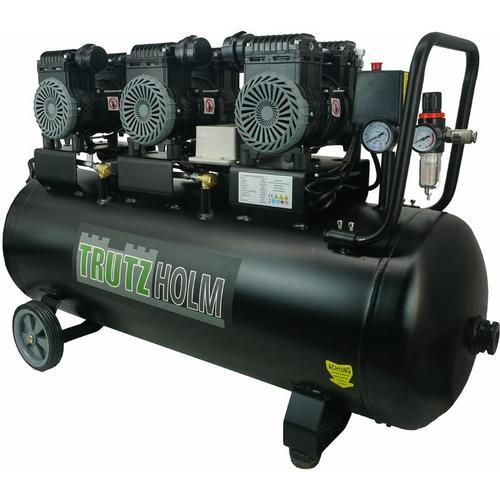 Silent Flüsterkompressor 90L leise Kompressor 2250W TH-fk90l - Trutzholm ®