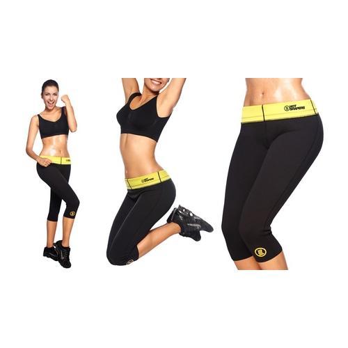 Hot Shapers Fitnesshose mit Schwitzeffekt: Gr. L