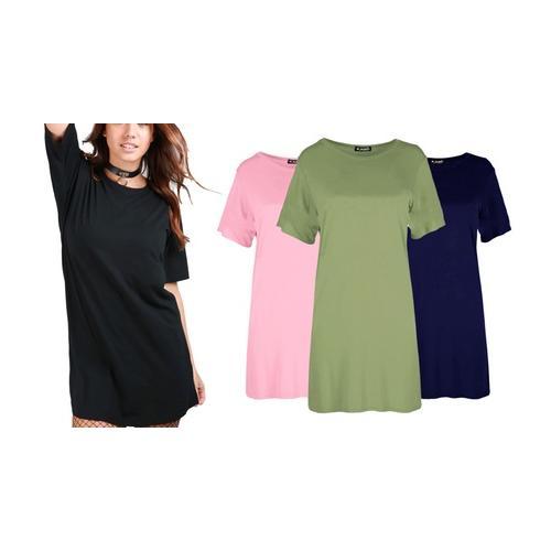 Mini-Kleid: Königsblau / L-XL