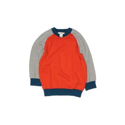The Children's Place - The Children's Place Pullover Sweater: Orange Tops - Size 4Toddler