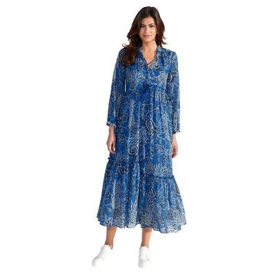 Kleid Lieblingsstück Blau::Weiß