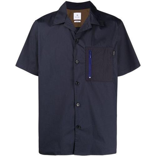 PS by Paul Smith Hemd mit Reißverschlusstasche