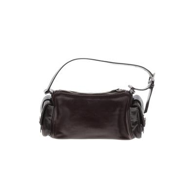 Enzo Angiolini - Enzo Angiolini Leather Shoulder Bag: Brown Solid Bags
