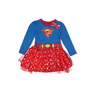 Super Girl Costume: Red Solid Accessories - Size 4Toddler