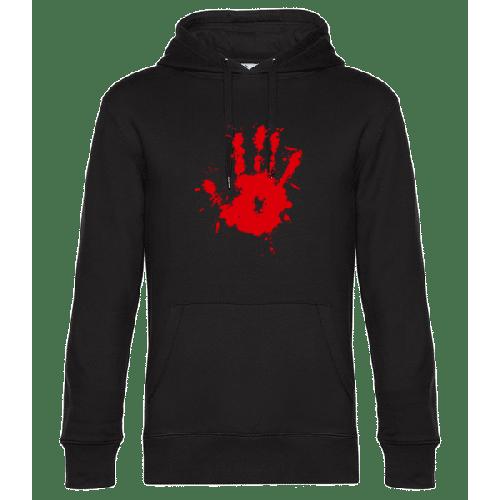 Blutiger Handabdruck - Unisex Hoodie