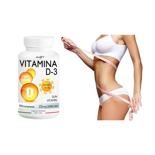 Lineadiet Vitamin D3 Tabletten: 120 Tabletten (7 2 g)