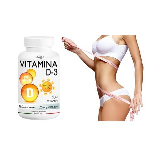 Lineadiet Vitamin D3 Tabletten: 180 Tabletten (10 8 g)