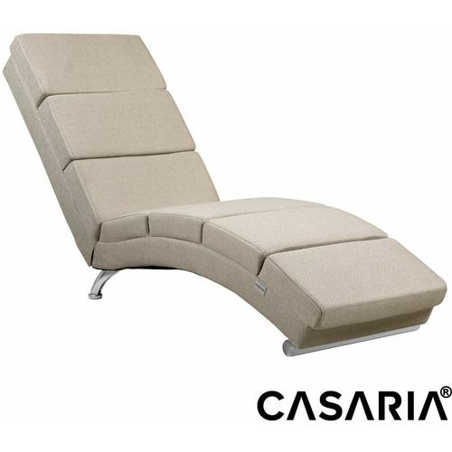 Relaxliege Liegesessel London Wohnzimmer Ergonomisch 186x55cm Modern Relaxsessel Liegestuhl Stoff