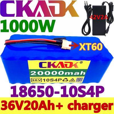 Batterie 10S4P, 36V, 20ah, 1000W...