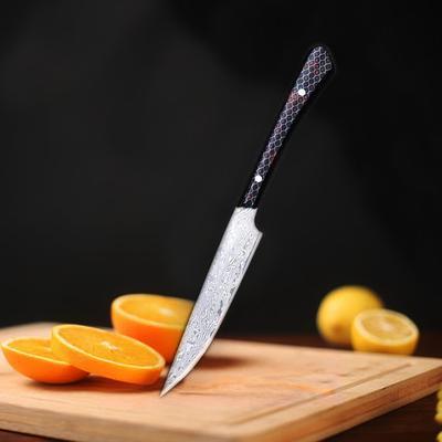 Couteaux de cuisine Laser damas,...
