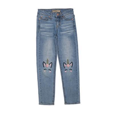 Celebrity Pink girls Jeans: Blue Bottoms - Size 7