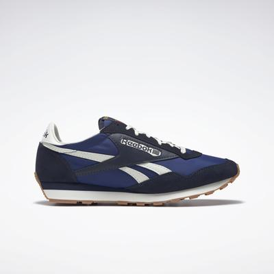 Reebok Unisex AZ II Shoes in Classic Cobalt/Vector Navy/Classic White Size M 12 / W 13.5 - Lifestyle Shoes