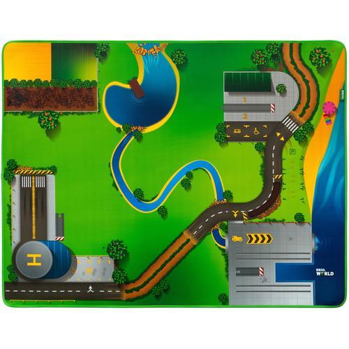 BRIO Spielzeugeisenbahn-Erweiterung Eisenbahn-Spielmatte, für die Brio Eisenbahn; FSC - schützt Wald weltweit bunt Kinder Kindereisenbahnen Autos, Eisenbahn Modellbau