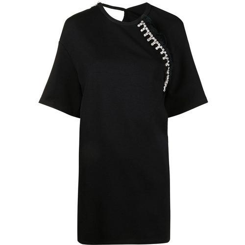 Area T-Shirt mit Kristallen