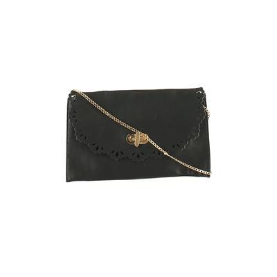 Moda Luxe - Moda Luxe Crossbody Bag: Black Solid Bags