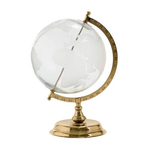 Globus IMPRESSIONEN living goldfarben/klar/weiß