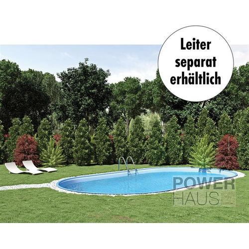 Waterman Ovalpool premium 8,00 x 4,00 x 1,20 m