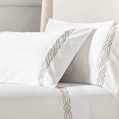 Resort Diamond Trellis Pillowcas...