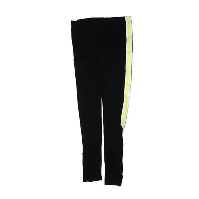 H&M Leggings: Black Solid Bottoms - Size 9