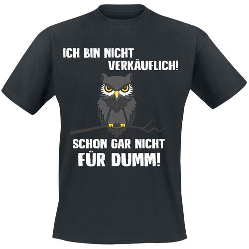 Ich bin nicht verkäuflich Herren-T-Shirt - schwarz