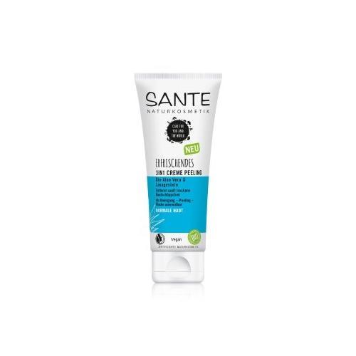 Sante Bio-Aloe Vera & Lavagestein 3 in 1 Gesichtspeeling 100 ml